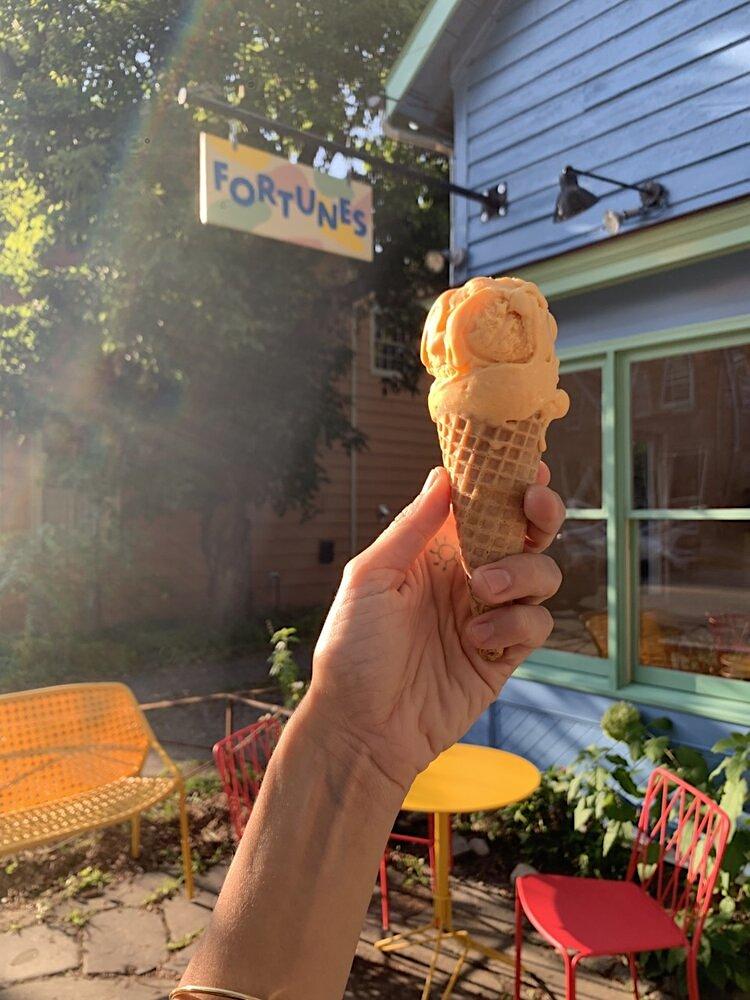 Fortunes Ice Cream in Tivoli