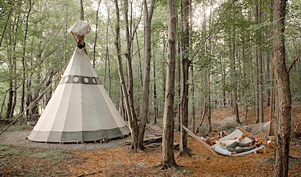 Glamping and Camping in the Hudson Valley
